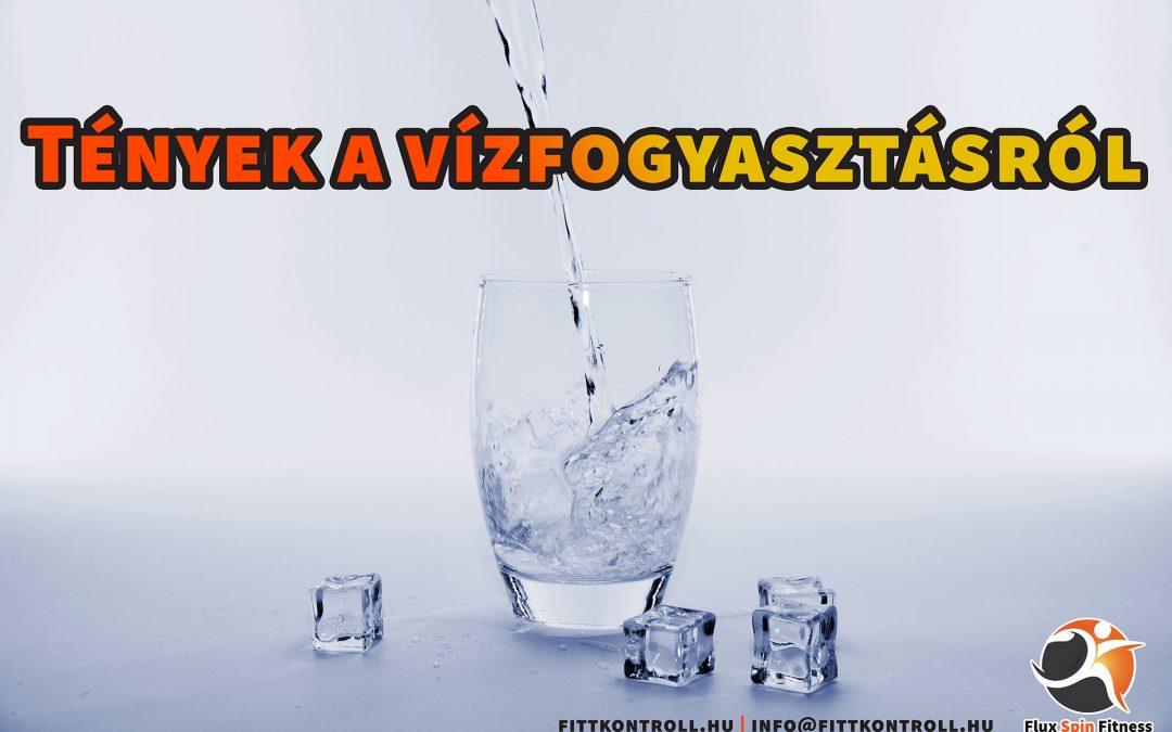 Tények a vízfogyasztásról
